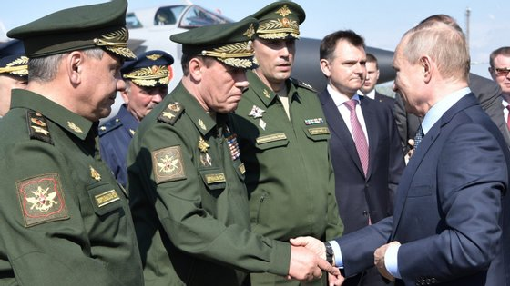 """Os líderes dos países membros da NATO declararam a Rússia como um """"risco"""" para a estabilidade militar global"""