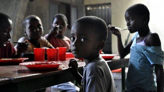 """De acordo com as avaliações mais recentes, um total de 1,9 milhões de pessoas """"correm risco de fome"""""""