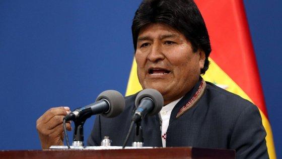 Evo Morales abdicou do cargo de presidente da Bolívia em novembro após ser pressionado a resignar pelos militares