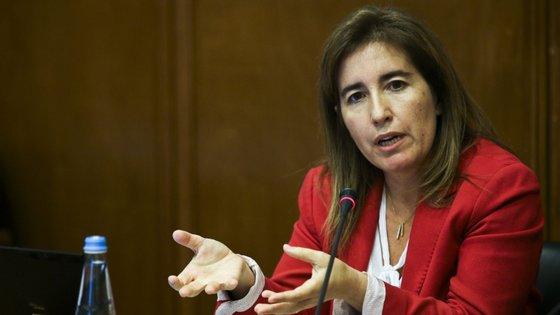 A ministra do Trabalho, Solidariedade e Segurança Social, Ana Mendes Godinho, apresentou o orçamento de 2020 para a Segurança Social