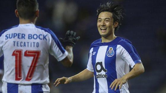 Corona confirmou estatuto de jogador com mais assistências no FC Porto esta época e Nakajima marcou pela primeira vez pelos dragões