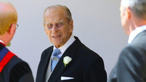 O Príncipe Philip tem 98 anos e retirou-se da vida pública em agosto de 2017