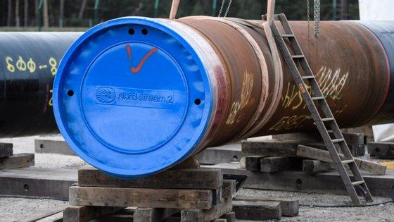 O gasoduto, que já está construído em mais de 80%, permitirá a Moscovo duplicar as entregas de gás natural russo na Europa, em especial na Alemanha