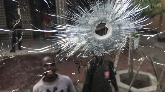 Os disparos começaram a dois quilómetros da aldeia de Chitunda, no norte do país