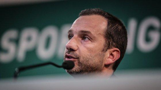 Frederico Varandas mostrou-se irritado na tribuna com o lance da expulsão de Bolasie e confrontou João Pinheiro ao intervalo