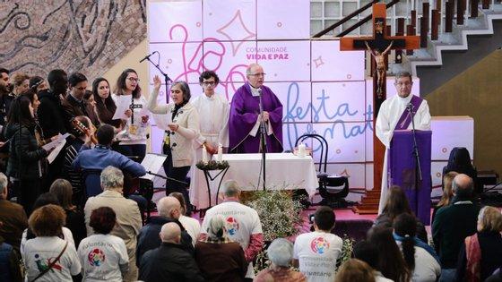 Manuel Clemente falou aos jornalistas à margem da Festa de Natal da Comunidade Vida e Paz, onde este domingo celebrou uma missa