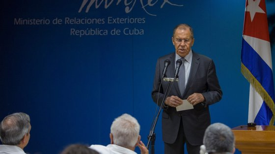 Lavrov acrescentou que os Estados Unidos, em matéria de segurança energética, nunca cumprem as promessas