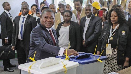 Filipe Nyusi conquistou 73% dos votos