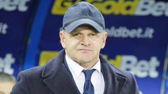 Iachini, de 55 anos, chega à Fiorentina depois de treinar o Palermo