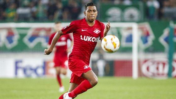 Pedro Rocha vem por empréstimo do Spartak Moscovo