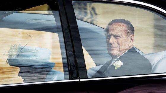 O Príncipe Philip tem 98 anos e retirou-se da vida pública em agosto de 2017.