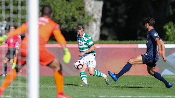 Esta época, Ristovski participou apenas em seis jogos do clube lisboeta
