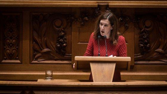 Cecília Meireles falou em nome do CDS para responder à mensagem de Natal de António Costa.