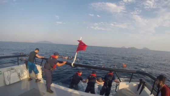 O naufrágio na Turquia provocou sete mortes