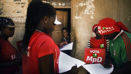 """""""Gostaria, em nome do presidente do MpD e dos militantes do partido, de lhe felicitar pela eleição e pela confiança depositada em si pelos militantes do vosso partido"""", lê-se na mensagem"""