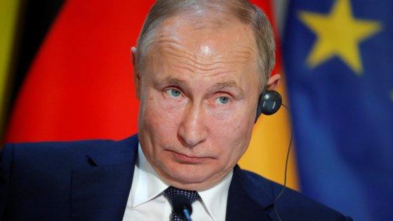 O resultado dos testes vai ser apresentado ao presidente russo, Vladimir Putin