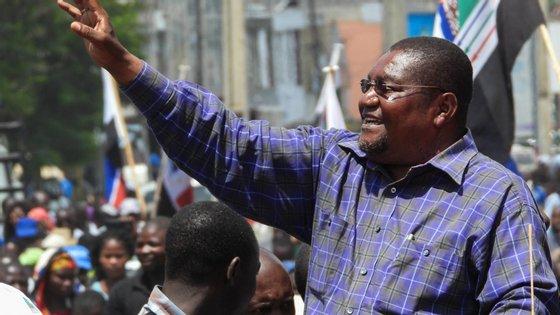 Mariano Nhongo é líder de um grupo de dissidentes da Renamo, principal partido da oposição moçambicana