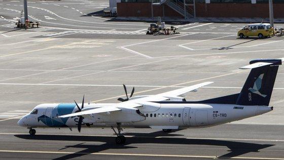 A ligação assegura os voos entre as nove ilhas açorianas
