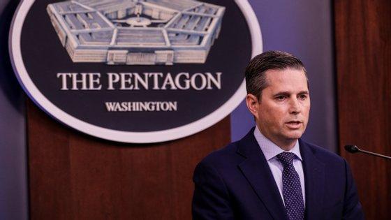 O ataque foi anunciado em comunicado pelo porta-voz do Pentágono, Jonathan Hoffman