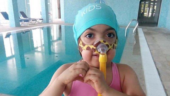 Margarida foi levada ao Spa de um hotel pelo seu médico pediatra Sérgio Pinto
