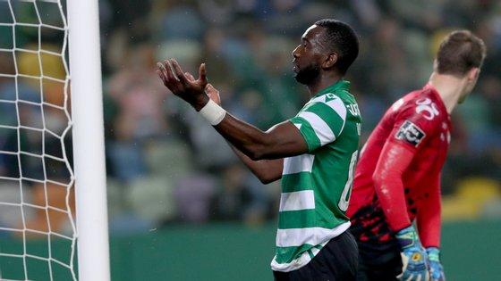 Bolasie foi expulso em Portimão no último jogo da Taça da Liga mas poderá defrontar FC Porto no Campeonato