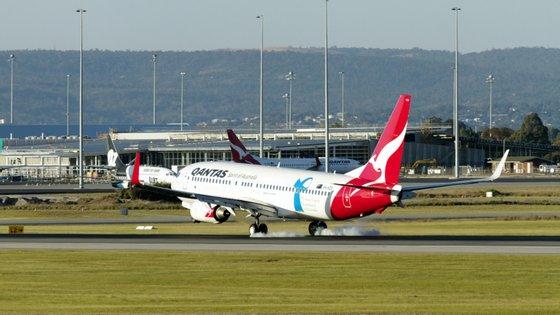 A mulher foi detida no aeroporto de Perth, na Austrália
