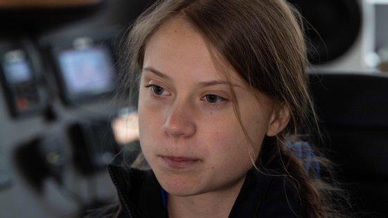 """""""[Trump]não ouve os cientistas e os especialistas. Porque é que me ia ouvir a mim?"""", disse Greta Thunberg"""