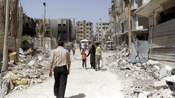 Em 2019 morreram 11.215 pessoas no conflito sírio