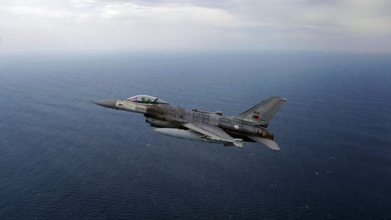 """Os F-16 da Força Aérea Portuguesa realizaram """"mais de 518 horas de voo de vigilância"""""""