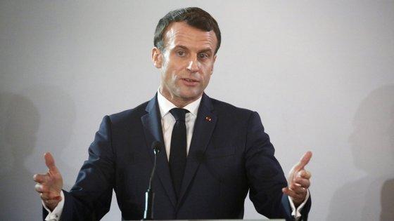 """O Presidente francês pediu ao executivo para """"encontrar um compromisso rápido"""" com os sindicatos"""