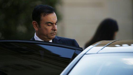 Carlos Ghosn, antigo presidente da Renault-Nissan, já está no Líbano