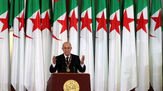 Abdelmadjid Tebboune é um ex-ministro e ex-chefe de governo do presidente Abdelaziz Bouteflika