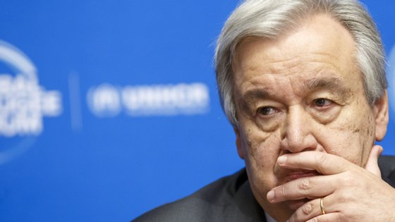 """António Guterres salienta que """"a incerteza prevalece"""" em relação ao futuro das reformas políticas"""