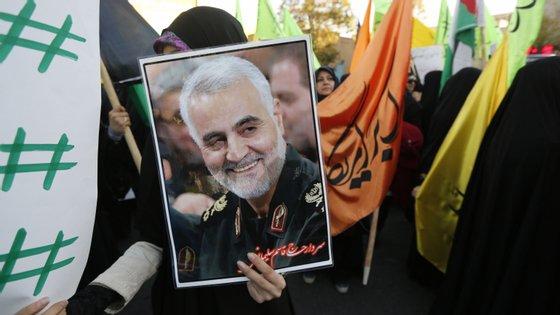 Ainda não tinha chegado aos 30 quando começou a emergir como um nome sonante dentro das forças armadas iranianas