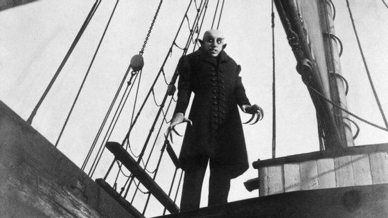 """O alemão Max Schreck vestiu a pele do vampiro mais famoso da história em """"Nosferatu"""""""