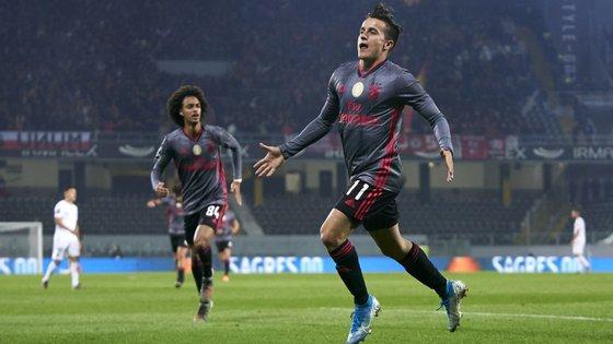O jogador argentino marcou pela terceira vez esta temporada