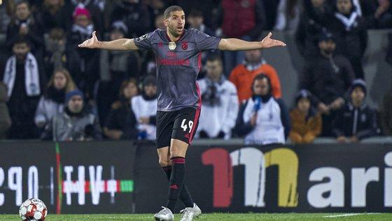 O jogador marroquino foi um dos melhores do Benfica na segunda parte