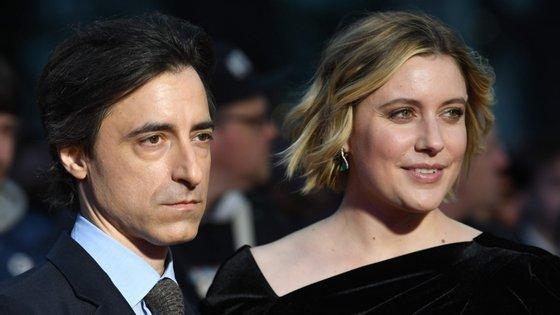 """Realizador Noah Baumbach e atriz Greta Gerwig, de """"Marriage Story"""""""