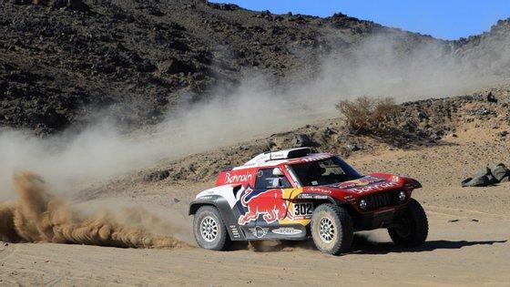 Fiúza segundo nos automóveis após primeira etapa no Dakar2020