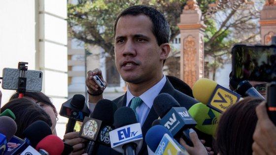 Juan Gaidó é o autoproclamado Presidente interino da Venezuela