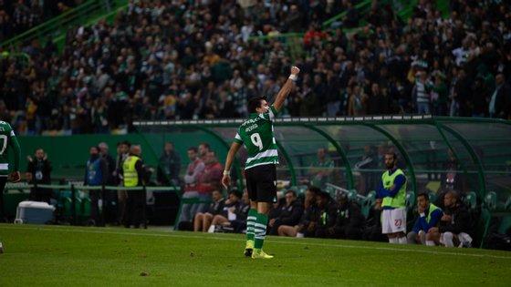 Acuña fez o empate em cima do intervalo e foi o MVP de um jogo onde o Sporting acabou derrotado pelo FC Porto