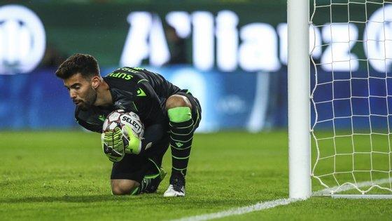 O jovem guarda-redes conquistou a titularidade da baliza do Sporting a Renan Ribeiro