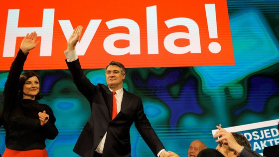 "A ""Croácia normal"" prometida pelo social-democrata Zoran Milanovic acabou por vencer nas urnas"