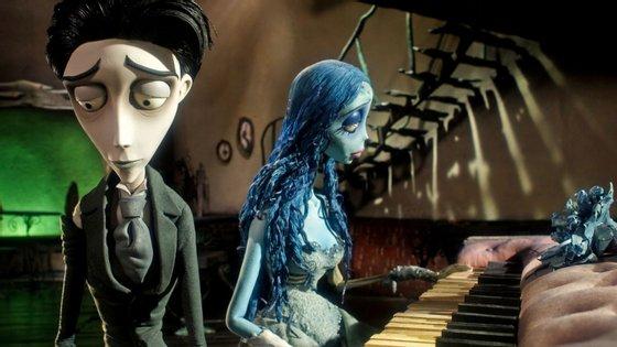 """""""A Noiva Cadáver"""" (2005) é um dos filmes representados na exposição """"O Mundo Animado de Tim Burton"""""""