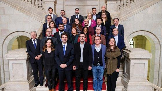 A fotografia de grupo que desagradou a Joacine Katar Moreira