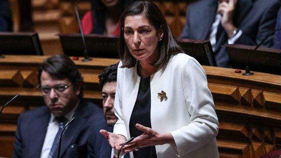 Ana Catarina Mendes é a líder parlamentar do PS