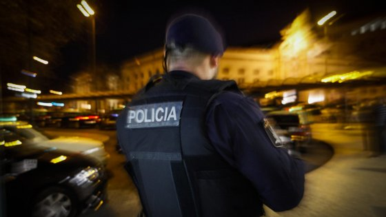 A Polícia de Segurança Pública esteve no local, mas o caso já passou para a PJ