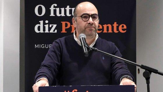 """Miguel Pinto Luz garantiu que, se for eleito presidente do partido, terá um """"estilo de liderança muito mais transparente, muito mais direto"""""""
