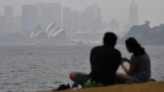 A Austrália como o quarto país atualmente com a pior qualidade de ar, atrás da Índia, China e Turquia