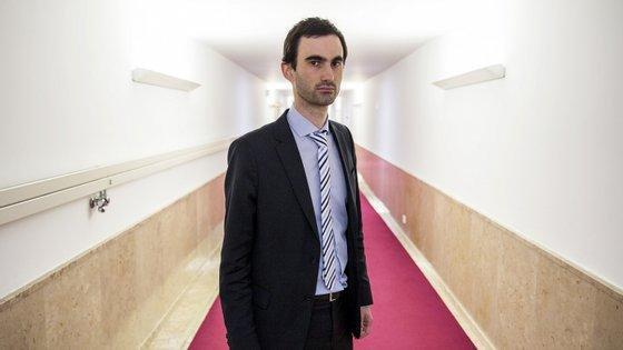 Tiago Barbosa Ribeiro é deputado do PS na Assembleia da República desde 2015